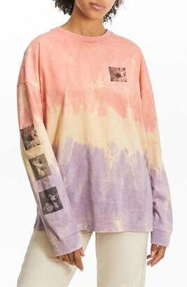 BDG Oak Forest Tie Dye Graphic Tee