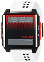 Vestal Unisex DIG028 Digichord Digital Display Quartz White Watch