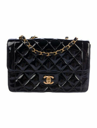 Chanel Vintage Quilted Flap Bag Black