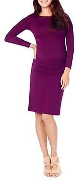 Ingrid & Isabel Maternity Ruched-Side Dress