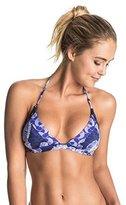 Roxy Women's Perpetual Water Fixed Tri Bikini Top