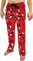 Bioworld Marvel Spiderman All Over Print Men's Red Sleep Pants Pajamas