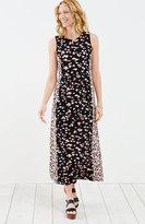 J. Jill Floral Knit Maxi Dress