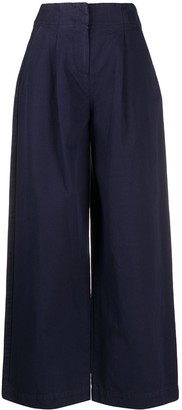 YMC Pleated Wide-Leg Trousers