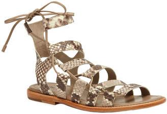 Frye Blair Side Ghillie Leather Sandal