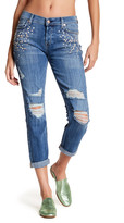 7 For All Mankind Josefina Faux Pearl Embellished Jeans