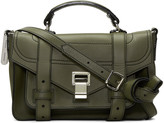 Proenza Schouler Green Tiny PS1+ Satchel
