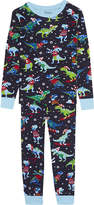 Hatley T-Rex print organic cotton pyjamas 4-12 years