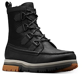 Sorel Men's Atlis Caribou Waterproof Shearling Lined Boots