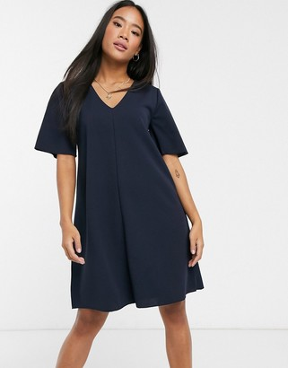JDY Kora short sleeve swing dress