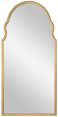 Bunny Williams Home Anna Wall Mirror - Distressed Gold Leaf