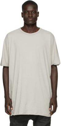 Boris Bidjan Saberi Grey Tight Fit T-Shirt