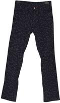 Louis Vuitton Blue Cotton Trousers