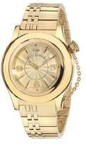 John Galliano Ladies Watch R1553102617 In Collection Elu, 2 H and S, Champagne Dial and Stainless Steel Bracelet