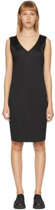 Issey Miyake Black Pleated Dress