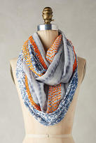 Anthropologie Knotted Paisley Infinity Scarf