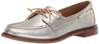 Sperry Women's Seaport Boat Shoe Off Off White 9.5 M US