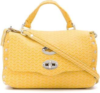 Zanellato textured postman lock bag