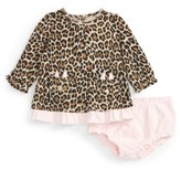 Kate Spade Infant Girl's Leopard Print Dress