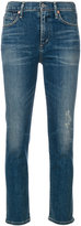 Citizens of Humanity Rocket cigarette ankle jeans - women - Cotton/Polyurethane - 24