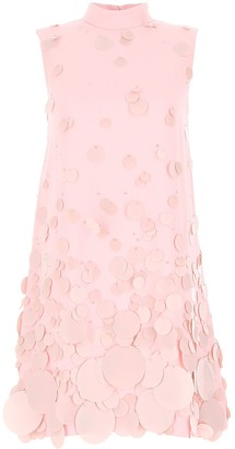 Prada Sequins Embellished Mini Dress