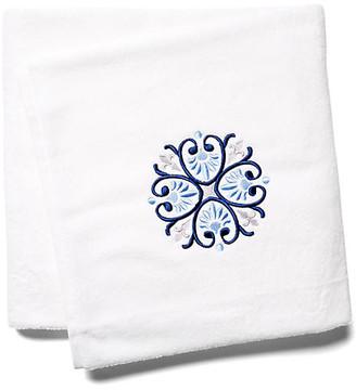 Hamburg House Bogota Bath Sheet - Blue