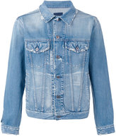 Simon Miller distressed denim jacket - men - Cotton - M