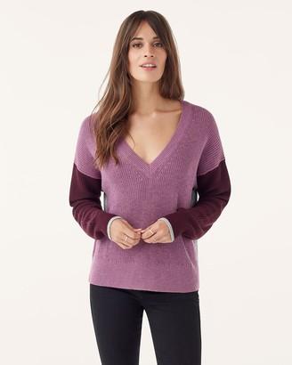 Splendid Gemma Colorblock Pullover