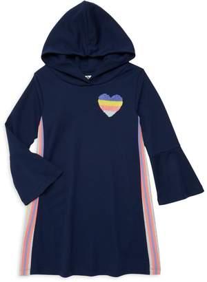 Pl Kids Little Girls & Girl's Hooded Dress