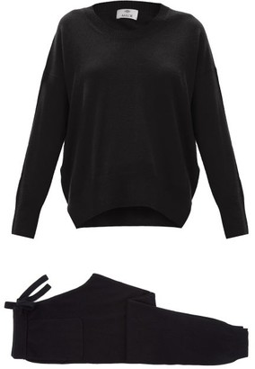 Allude Cashmere Lounge Set - Black