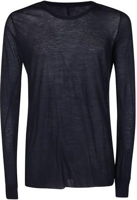 Rick Owens Sheer Long-Sleeve T-Shirt