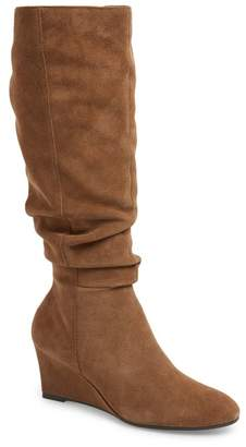 Bettye Muller CONCEPTS Carole Suede Knee High Boot