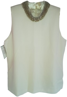 Goat Beige Silk Top for Women