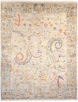 F.J. Kashanian Fashion Hand-Knotted Wool Rug