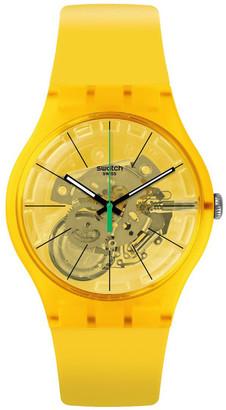 Swatch Bio Lemon Watch