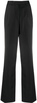 Gianfranco Ferré Pre-Owned 2000s Pinstriped Straight-Leg Trousers