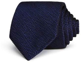Giorgio Armani Chevron Pattern Classic Tie
