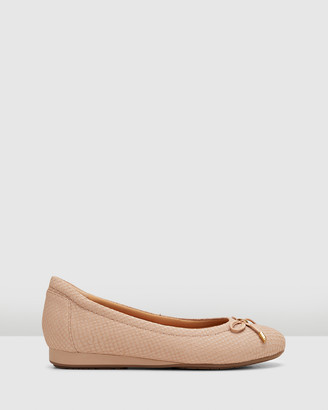 Hush Puppies Women's Neutrals Ballet Flats - The Ballet - Size One Size, 7 at The Iconic