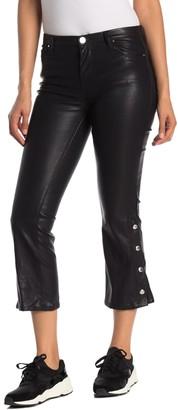 Blank NYC Faux Leather Cropped Pants