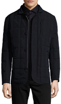 Toscano Quilted Woven Jacket