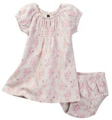 Tea Collection Bambina Smocked Dress & Bloomer Dress (Baby Girls)