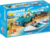 Playmobil Surfer Pickup With Speedboat 6864