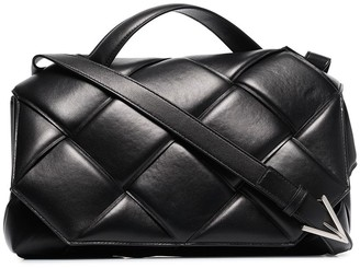 Bottega Veneta Top Handle Padded Shoulder Bag