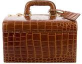 Gucci Vintage Crocodile Vanity Case