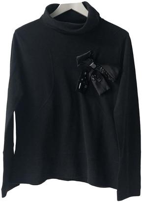 Christian Lacroix Black Cotton Knitwear