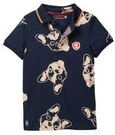 Catimini Dog Print Polo Shirt (Little Boys)