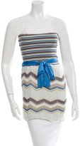 M Missoni Knit Patterned Halter Top w/ Tags