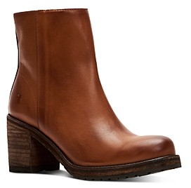 Frye Women's Karen Stacked Heel Booties