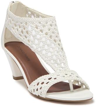 Donald J Pliner Verona Woven Leather Sandal