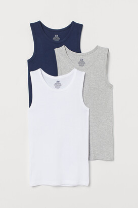 H&M 3-pack Cotton Tank Tops